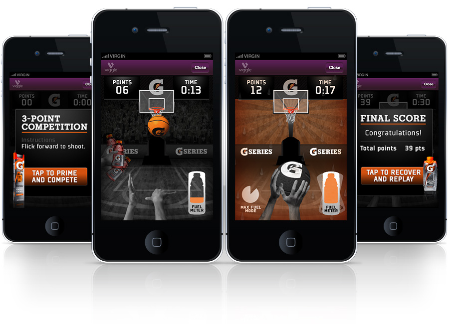 Gatorade/Viggle - game